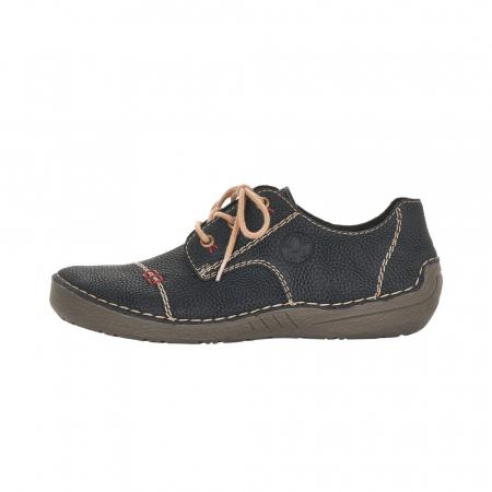 Pantofi dama casual, piele naturala, 52520-004