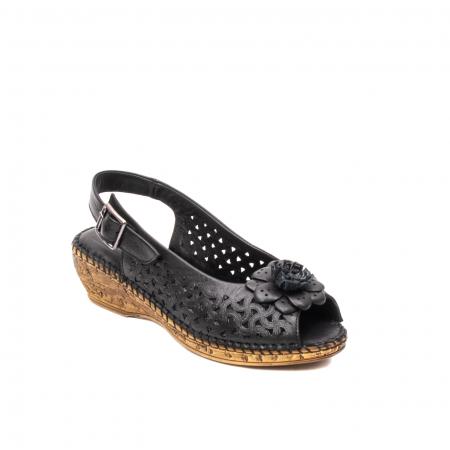 Sandale dama, piele naturala, D43700 01-N0