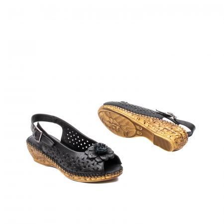 Sandale dama, piele naturala, D43700 01-N3
