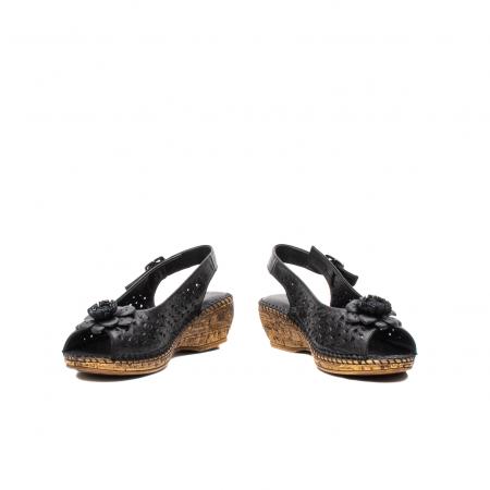 Sandale dama, piele naturala, D43700 01-N4