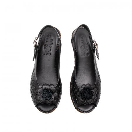 Sandale dama, piele naturala, D43700 01-N5