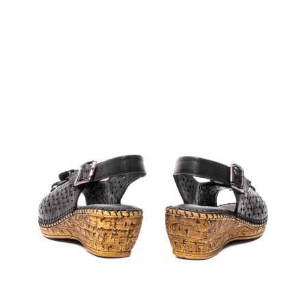 Sandale dama, piele naturala, D43700 01-N6