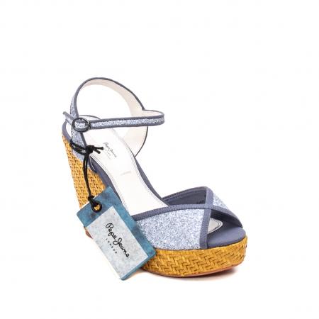 Sandale dama elegante, piele naturala, WALKER GLAM, 90298-5850