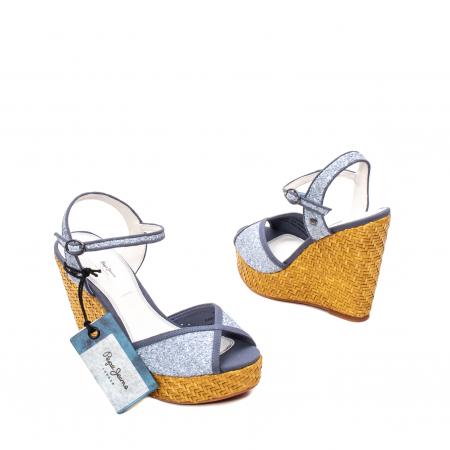 Sandale dama elegante, piele naturala, WALKER GLAM, 90298-5852