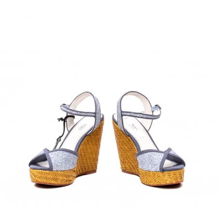 Sandale dama elegante, piele naturala, WALKER GLAM, 90298-5854