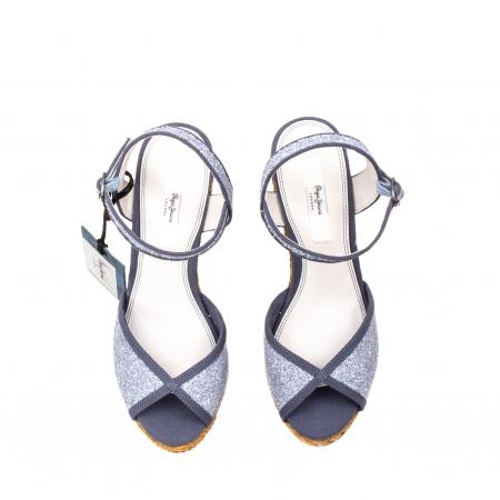 Sandale dama elegante, piele naturala, WALKER GLAM, 90298-5855
