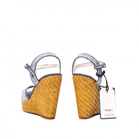 Sandale dama elegante, piele naturala, WALKER GLAM, 90298-5856