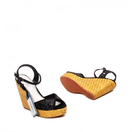 Sandale dama elegante din piele naturala, Walker glam, 90298-9993