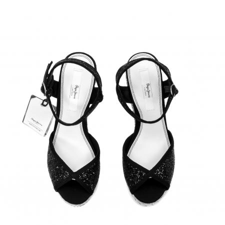 Sandale dama elegante din piele naturala, Walker glam, 90298-9995