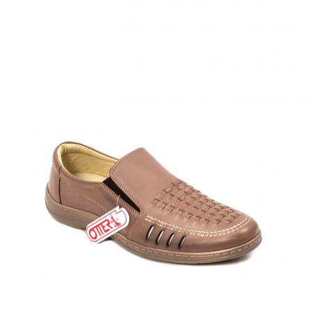 Pantofi barbati casual vara, piele naturala, OT 148 B2-N0
