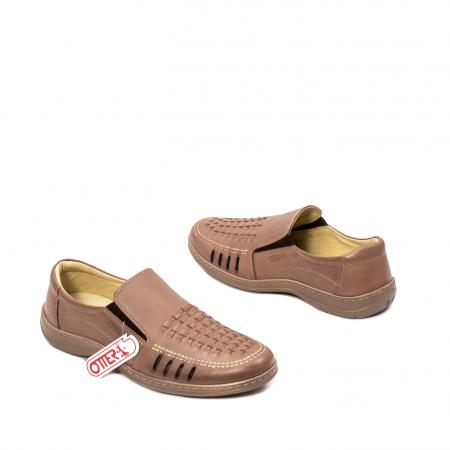 Pantofi barbati casual vara, piele naturala, OT 148 B2-N2