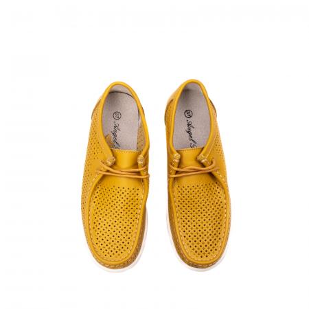 Pantofi dama casual de vara, piele naturala, 2074 M5