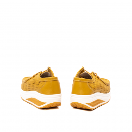 Pantofi dama casual de vara, piele naturala, 2074 M6