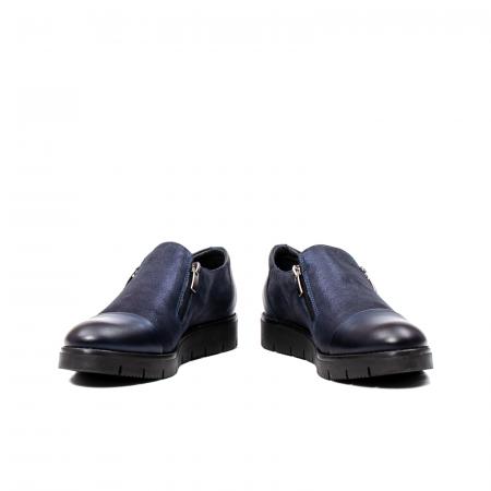 Pantofi casual dama, piele naturala, 182634AMA BL4