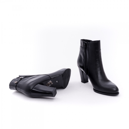 Botine elegante dama  marca NIKE INVEST-G 1153 negru3