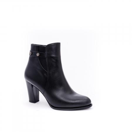 Botine elegante dama  marca NIKE INVEST-G 1153 negru0