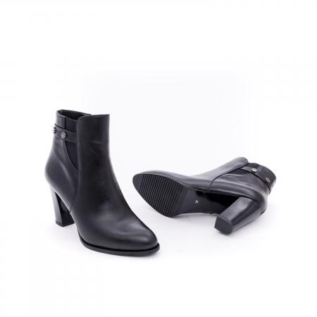 Botine elegante dama  marca NIKE INVEST-G 1153 negru2