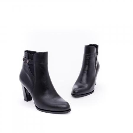 Botine elegante dama  marca NIKE INVEST-G 1153 negru1