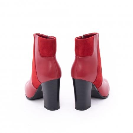 Botine elegante dama VN1734-2 red4