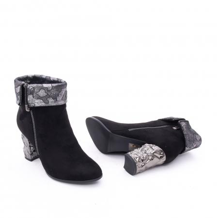 Botine elegante dama VN9375-1 black2