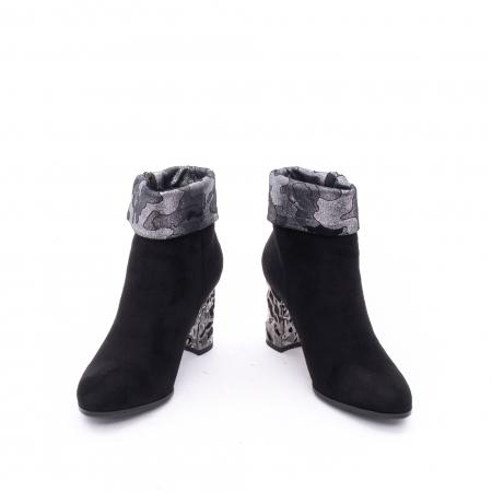 Botine elegante dama VN9375-1 black3