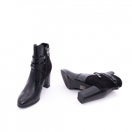 Botine elegante dama  VN9379-3 black2