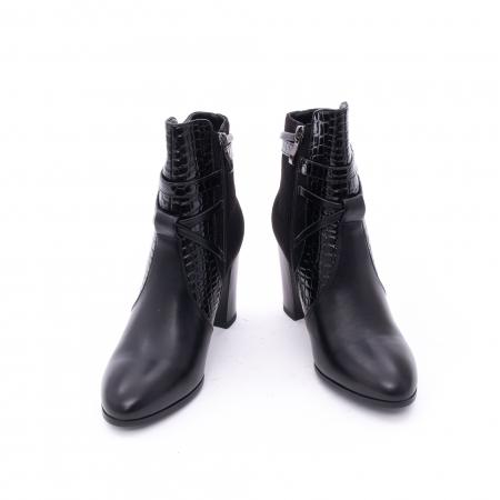 Botine elegante dama  VN9379-3 black3