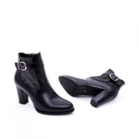 Botine elegante de dama marca Nike Invest  G 989 negru2