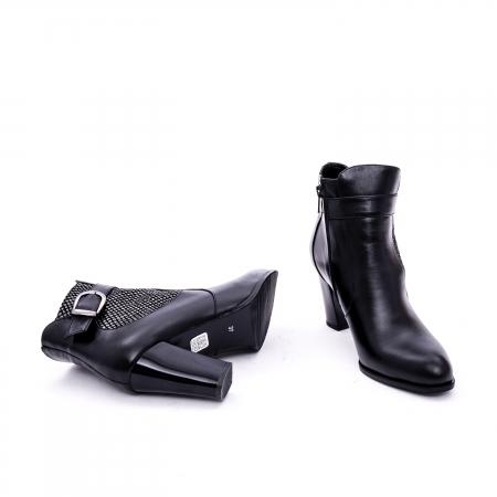 Botine elegante de dama marca Nike Invest  G 989 negru3