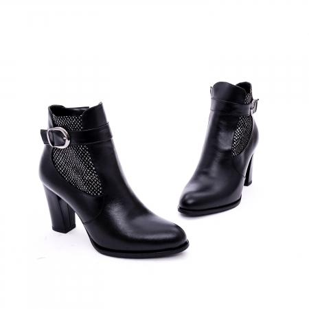 Botine elegante de dama marca Nike Invest  G 989 negru1