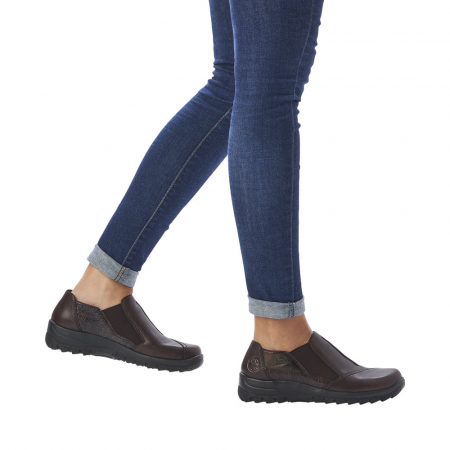 Pantofi dama casual, piele naturala, L7178-25 [7]