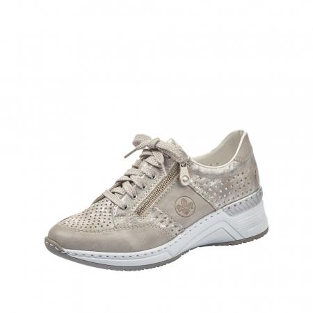 Pantofi dama casual din piele ecologica N4327-800