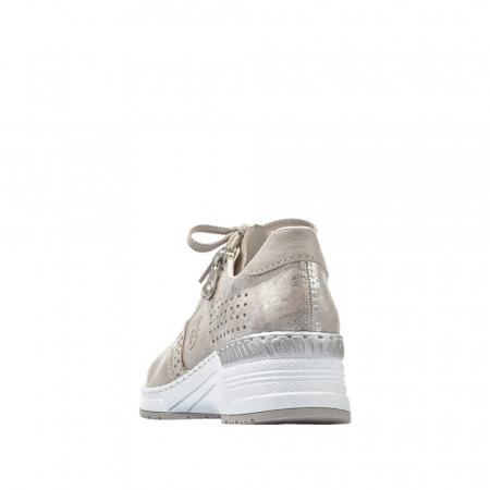 Pantofi dama casual din piele ecologica N4327-802