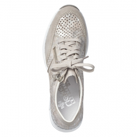 Pantofi dama casual din piele ecologica N4327-803