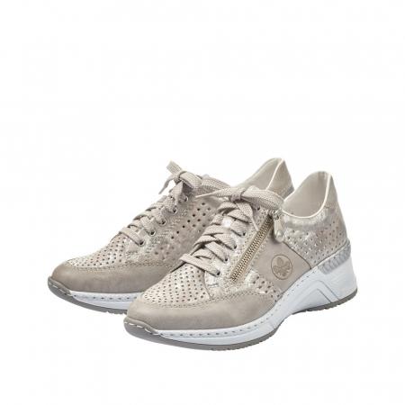 Pantofi dama casual din piele ecologica N4327-806