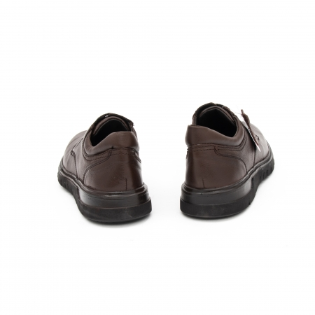 Pantofi barbati casual piele naturala Otter 2804, maro6