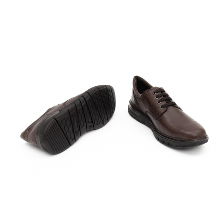 Pantofi barbati casual piele naturala Otter 2804, maro3