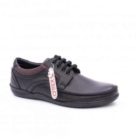 Pantof barbat marca OTTER OT 222 negru0