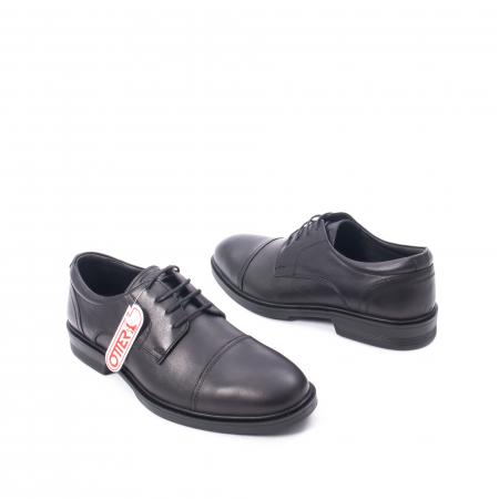 Pantofi barbati piele naturala Otter 5421, negru1