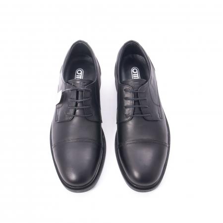 Pantofi barbati piele naturala Otter 5421, negru2