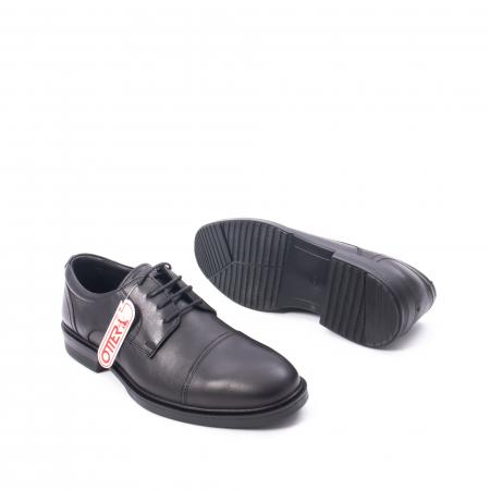 Pantofi barbati piele naturala Otter 5421, negru3