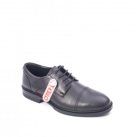 Pantofi barbati piele naturala Otter 5421, negru0