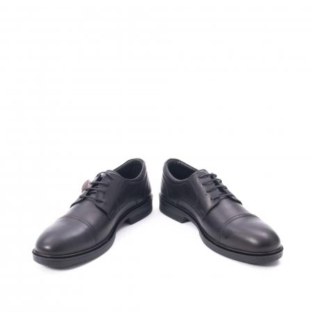 Pantofi barbati piele naturala Otter 5421, negru6