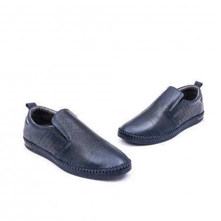 Pantofi barbati casual piele naturala Catali 191543, jeans1