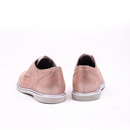 PantofI dama casual piele naturala, Catali-Shoes 191646, pudra6
