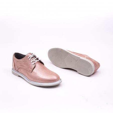 PantofI dama casual piele naturala, Catali-Shoes 191646, pudra2