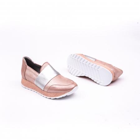 Pantof casual Catali 191652 pudra2