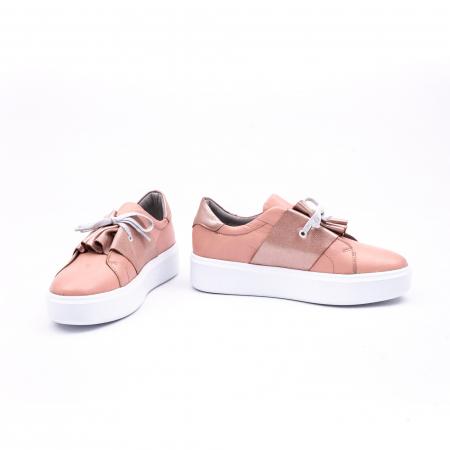 Pantof casual Catali 191654 pudra4