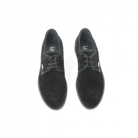 Pantof casual adolescent LFX 578 negru velur5