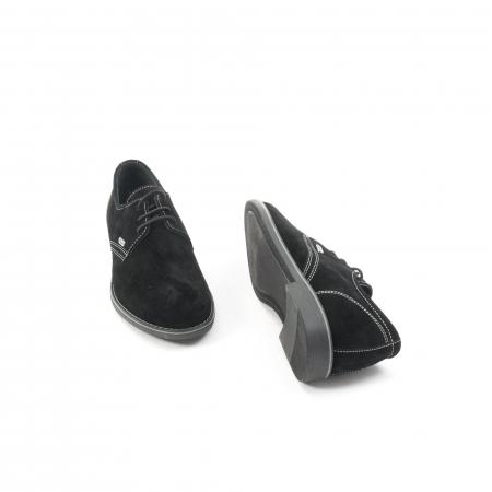Pantof casual adolescent LFX 578 negru velur3